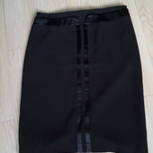 Классическая черная юбка, состояние отличное!