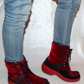 Ботинки 41 р.,  кожа, зима оригинал