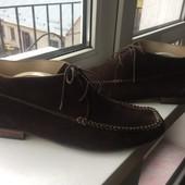 Ботинки кожаные двойные28.5-29см