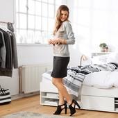 Джинсовая юбка от ТСМ (германия), размер 38 евро , цвет - черный