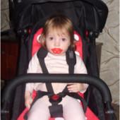 Реальное фото,моя доця в коляске!!сумка-коляска Baby Throne.|покупка без посредника от производителя