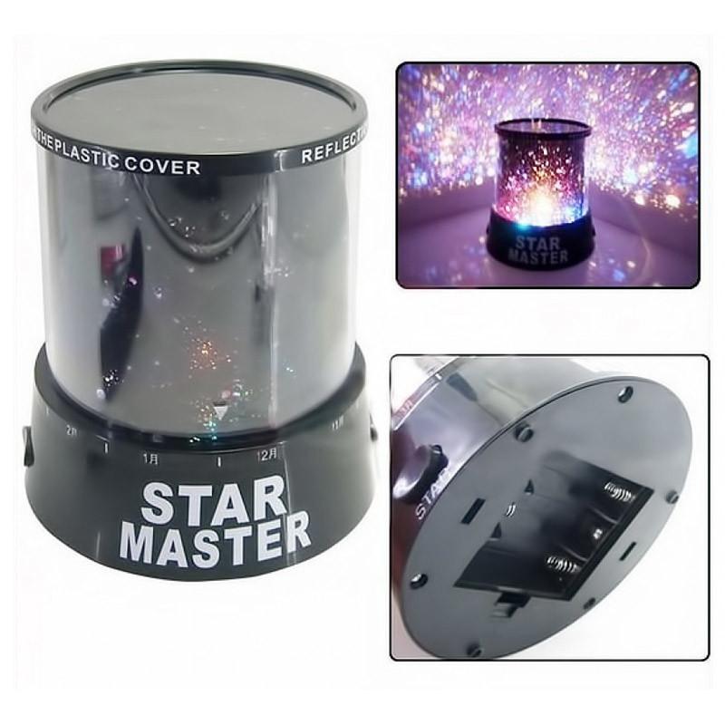 Проектор звездного неба star master с адаптером 220v фото №1