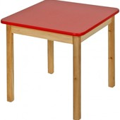 Детский деревянный столик цветной, Финекс Артикул: 0-25