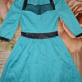 Вечернее женственное платье