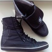 Высокие кроссовки - кеды хайтопы от Adidas by Raf Simons