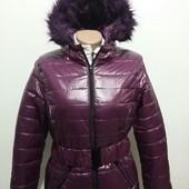 Стильная , модная, стеганная  куртка от Такко-Тсм(германия), размер М, цвет - бордо