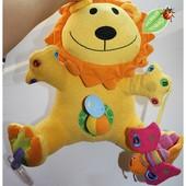 Большущий развивающий лев! игрушка