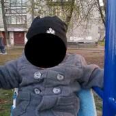 George Теплое пальто на малыша 1-2 года хорошее состояние