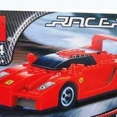 Конструктор Brick Спортивная машина