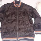 Демисезонная курточка на флисе 5 лет