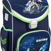 Рюкзак kite школьный каркасный 529 Moto Racing k16-529S-2