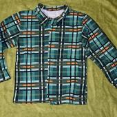 Рубашка новая, хлопковая баечка. Для дома, садика на рост 100 см