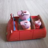 Машинка Пеппы пиг.Семья.