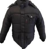 Зимова тепла куртка для чоловіків, XL, 2xl, 3xl, 4xl.