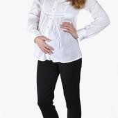 Стильные брюки-дудочки для беременных черные