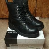 Кожаные ботинки Bronx 38