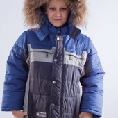 Куртка зимняя для мальчика (KIKO) 104-128 р.