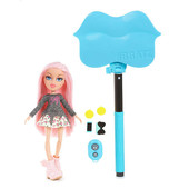 Набор монопод для селфи и кукла Братс - Bratz selfie stick with doll - Cloe