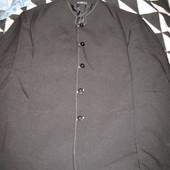 Пиджак мужской,воротник -стойка,р.52,100% полиэстер.
