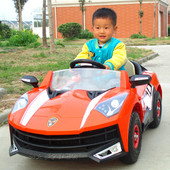 Детский электромобиль C1608 Lamborghini, оранжевый