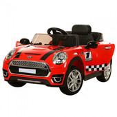 Детский электромобиль Mini Cooper M 3182 ebr-3, красный