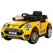 Детский электромобиль Mini Cooper M 3182 ebr-6, желтый
