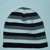 Jack&Jones брендовая мужская шапка,хлопок,р-р универсальный 54-58,сток