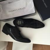 шкіряні туфлі Andrea Amati