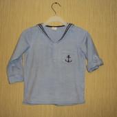 Рубашка H&M (Эйч энд Эм), на 1,5-2 года