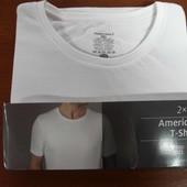 2 шт в упак. футболки белые Ahgelo Litrico 52-54 наш