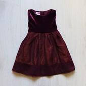 Нарядное платье для маленькой принцессы. Name it. Размер 12-18 месяцев. Состояние: новой вещи.