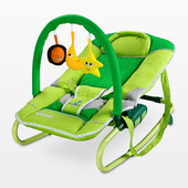 Шезлонг-качалка для детей Caretero Astral ( цвета в ассортименте)