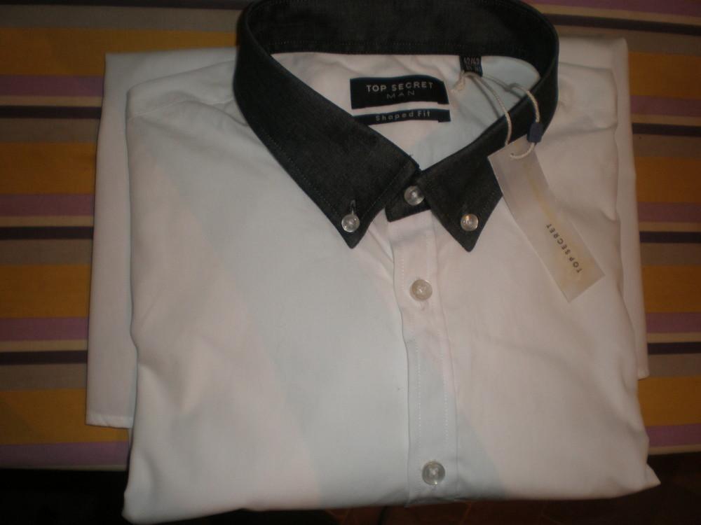 белоснежная рубашка от top secret фото №1