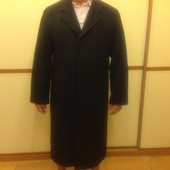 Мужское новое пальто, Италия, шерсть, кашемир, C&A, р.52-54