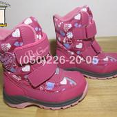 Термо черевики B&G RAY175-21 для дівчинки зимові терміки біджи зимние термо ботинки би джи девочку