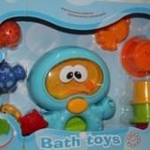 Игрушки для ванной, набор игровой 3134 Bath Toys Осьминог