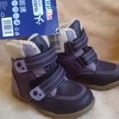зимние ботиночки с S-TEX 24р.
