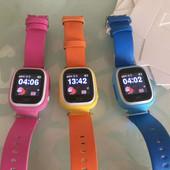 Детские умные часы Smart baby watch Q90 с gps, сенсорный экран и Wi-Fi