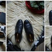 Стильные кожаные туфли-броги р-р 42-43