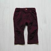 Стильные вельветовые джинсики для модника. M&S. Размер 6-9 месяцев. Состояние: идеальное