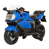 Лицензионный детский мотоцикл на аккумуляторе BMW Z 283-4, синий