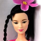 кукла Барби Йога Made to move японка Неко на простом теле