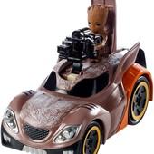 Hot Wheels Marvel Deluxe character Rocket vehicle