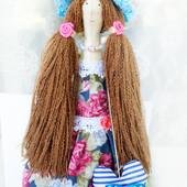 Куколка тильда Розалия. 52 см