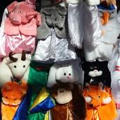 Детские новогодние костюмы зверят  2-3-4-5-6-лет опт и розница