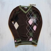 Новый стильный свитер для мальчика. Эффект изнанки. Duckfish. Размер 8 лет