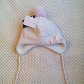 Теплая шапка Maximo на ог 45 см