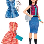 Barbie Fashionistas doll & fashions Pretty in paisley