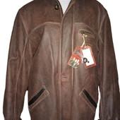 Остатки от распродажи.Цены снижены.   Мужская всесезонная кожаная куртка Pretender. Размер L  50.