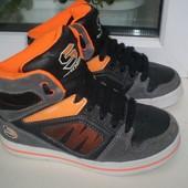 скейтера ботинки кроссовки Skechers р. 32 ( 1 ),стелька 20.5 см